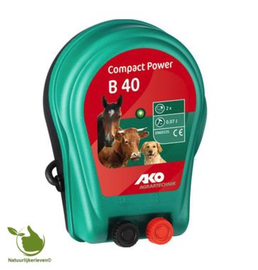 AKO Compact Power B 40 battery device, 2x 1.5V