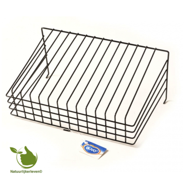 Salad rack in metal