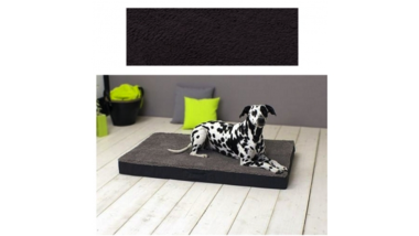 Orthopedic Dog Cushion 100x65x10cm Anthracite