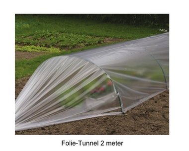 Folie-Tunnel Greenhouse 2 meter
