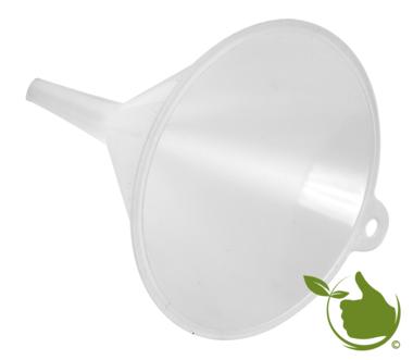 Funnel white Ø 10 cm