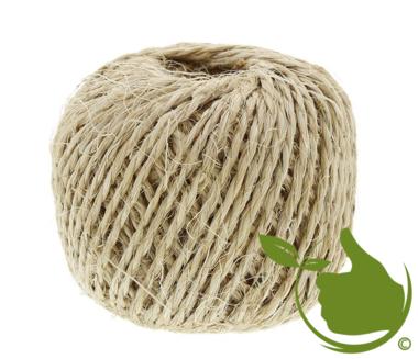 Sisal rope 50 meters 2/6 200gr