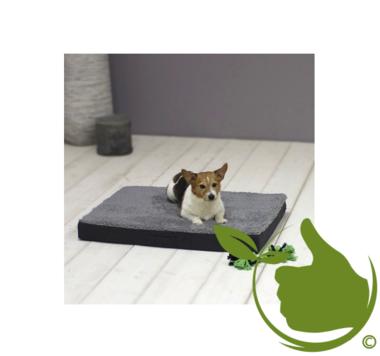 Orthopedic Dog Cushion 72x50x8cm Anthracite