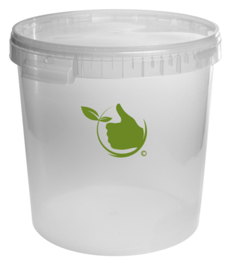 Fermentation Container transparant 30L with cover