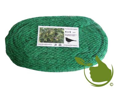 Anti-bird defence net 6x6m