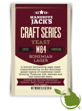 Dried brewing yeast Bohemian Lager M84 - Mangrove Jack's Craft Series - 10 g