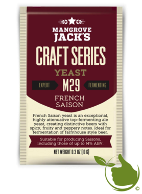 Dried brewing yeast French Saison M29 - Mangrove Jack's Craft Series - 10 g