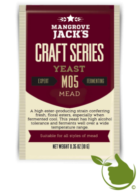 Dried brewing yeast Mead - Mangrove Jack's Craft Series - 10 g