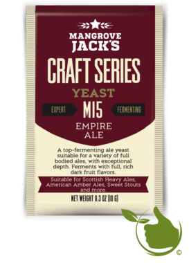 Dried brewing yeast Empire Ale M15 - Mangrove Jack's Craft Series - 10 g