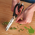 Multifunctional kitchen scissors with case
