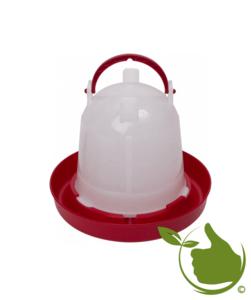 Drinkklok voor pluimvee met handvat 1.5 liter