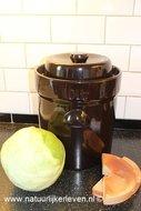 Zuurkoolpot 20 liter ( webwinkel natuurlijkerleven )